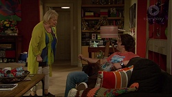Sheila Canning, Kyle Canning, Bossy in Neighbours Episode 7266
