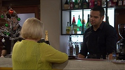 Sheila Canning, Nate Kinski in Neighbours Episode 7266