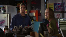 Tyler Brennan, Piper Willis in Neighbours Episode 7266