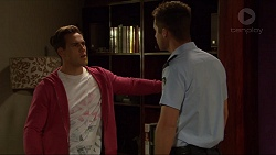 Aaron Brennan, Mark Brennan in Neighbours Episode 7267