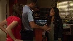 Paige Smith, Mark Brennan, Michelle Kim in Neighbours Episode 7267