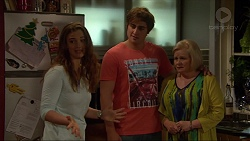 Amy Williams, Kyle Canning, Sheila Canning in Neighbours Episode 7267