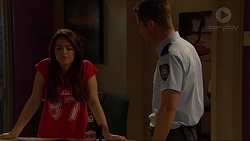 Paige Novak, Mark Brennan in Neighbours Episode 7267