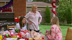 Paige Novak, Lauren Turner, Amber Turner in Neighbours Episode 7268