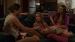 Tyler Brennan, Piper Willis, Indiana Crowe in Neighbours Episode 7268
