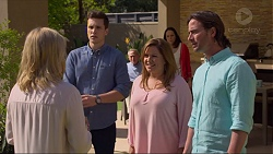 Lauren Turner, Josh Willis, Doug Willis, Terese Willis, Imogen Willis, Brad Willis in Neighbours Episode 7268