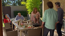 Imogen Willis, Doug Willis, Terese Willis, Piper Willis, Brad Willis, Josh Willis in Neighbours Episode 7268