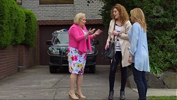 Sheila Canning, Belinda Bell, Steph Scully in Neighbours Episode 7269