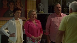 Susan Kennedy, Sheila Canning, Karl Kennedy, Lou Carpenter in Neighbours Episode 7269