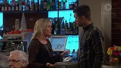 Lauren Turner, Mark Brennan in Neighbours Episode 7269