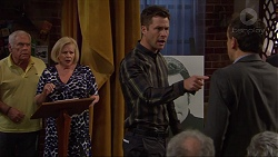 Lou Carpenter, Sheila Canning, Mark Brennan, Stanley Neve in Neighbours Episode 7269
