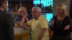 Stanley Neve, Sheila Canning, Lou Carpenter, Lauren Turner in Neighbours Episode 7269