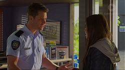 Mark Brennan, Paige Novak in Neighbours Episode 7270