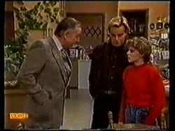Dan Ramsay, Scott Robinson, Charlene Robinson in Neighbours Episode 0770