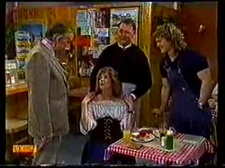 Dan Ramsay, Madge Bishop, Harold Bishop, Henry Ramsay in Neighbours Episode 0770