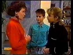 Lucy Robinson, Todd Landers, Emma Gordon in Neighbours Episode 0770