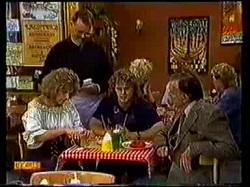 Harold Bishop, Madge Bishop, Henry Ramsay, Dan Ramsay in Neighbours Episode 0770