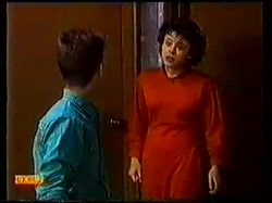 Todd Landers, Lucy Robinson in Neighbours Episode 0770