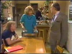 Henry Ramsay, Madge Bishop, Harold Bishop, Dan Ramsay in Neighbours Episode 0771