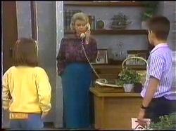 Katie Landers, Helen Daniels, Todd Landers in Neighbours Episode 0771