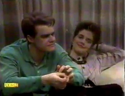 Paul Robinson, Gail Robinson in Neighbours Episode 0869