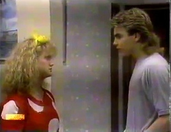 Sharon Davies, Nick Page in Neighbours Episode 0869