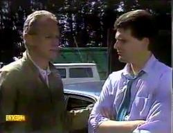 Jim Robinson, Des Clarke in Neighbours Episode 0869