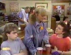 Harold Bishop, Nick Page, Sharon Davies, Lucy Robinson in Neighbours Episode 0872