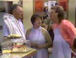 Harold Bishop, Edith Chubb, Henry Ramsay in Neighbours Episode 0872