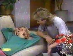 Katie Landers, Nick Page in Neighbours Episode 0873