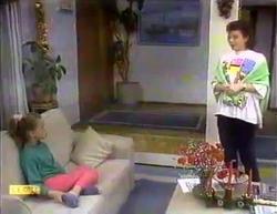 Katie Landers, Lucy Robinson in Neighbours Episode 0873