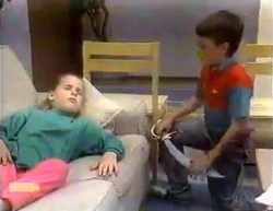 Katie Landers, Toby Mangel in Neighbours Episode 0873