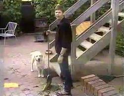 Bouncer, Joe Mangel in Neighbours Episode 0873