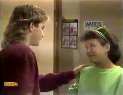 Nick Page, Lucy Robinson in Neighbours Episode 0873