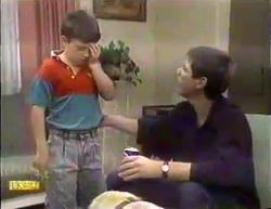 Toby Mangel, Joe Mangel in Neighbours Episode 0873