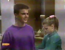Todd Landers, Katie Landers in Neighbours Episode 0874