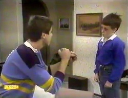 Joe Mangel, Toby Mangel in Neighbours Episode 0874