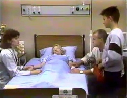 Beverly Marshall, Helen Daniels, Jim Robinson, Todd Landers in Neighbours Episode 0874