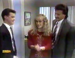 Paul Robinson, Jane Harris, Mark Granger in Neighbours Episode 0874