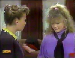 Bronwyn Davies, Sharon Davies in Neighbours Episode 0875