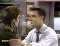 Gail Robinson, Paul Robinson in Neighbours Episode 0875