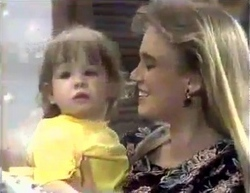 Jamie Clarke, Bronwyn Davies in Neighbours Episode 0876