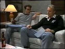 Glen Donnelly, Jim Robinson in Neighbours Episode 1396