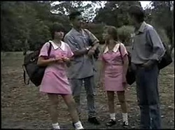 Cody Willis, Josh Anderson, Melissa Jarrett, Todd Landers in Neighbours Episode 1396