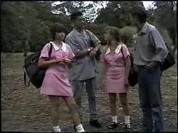 Cody Willis, Josh Anderson, Melissa Jarrett, Todd Landers in Neighbours Episode 1396