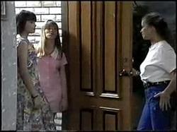 Cody Willis, Melissa Jarrett, Lucy Robinson in Neighbours Episode 1396