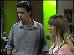 Todd Landers, Melissa Jarrett in Neighbours Episode 1396