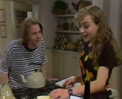 Brett Stark, Debbie Martin in Neighbours Episode 2110