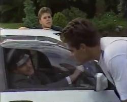 Chauffeur, Michael Martin, Mark Gottlieb in Neighbours Episode 2110