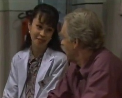 Dr Sung, Tom Weaver in Neighbours Episode 2110